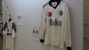 Beşiktaş'lı futbolcuların 1903'ten bu yana giydiği formalar bu sergide görücüye çıktı
