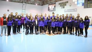 Aydın Büyükşehir Belediyespor'a öğrenci ziyareti