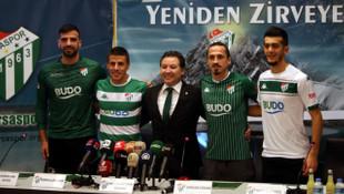 Bursaspor'da yeni transferler imzaladı