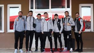 Sivasspor kafilesi Malatya'ya gitti