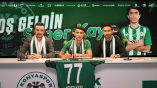 Konyaspor, 2003 doğumlu Şener Kaya ile profesyonel sözleşme imzaladı