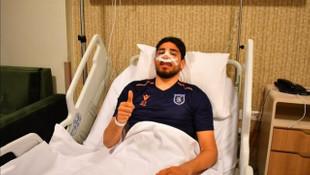 Başakşehir'de Berkay Özcan ameliyat oldu