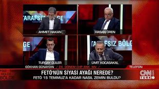 Canlı yayında gergin anlar ! Ahmet Hakan, eski vekili yayından aldı