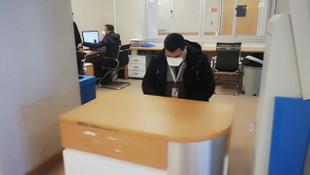Büyükçekmece'de hastanede ''domuz gribi'' alarmı