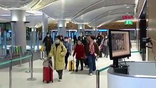 İstanbul Havalimanı'nda koranavirüs taraması