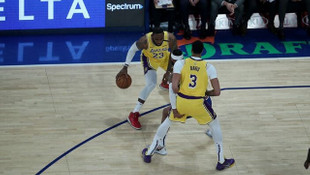 Lakers Lebron James'in 'triple-double' yaptığı maçta yendi