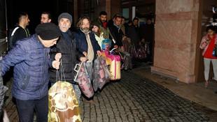 Türkiye uyumadı! Ülkenin dört bir yanından yardım yağdı