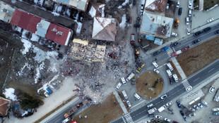 Elazığ depremi sonrası ABD'den korkutan harita