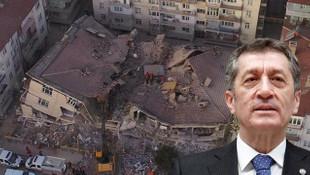 Okullarda hasar var mı ? Bakan Selçuk'tan açıklama