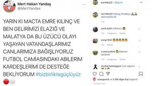 Sivasspor ve Rizesporlu futbolculardan depremzedelere yardım