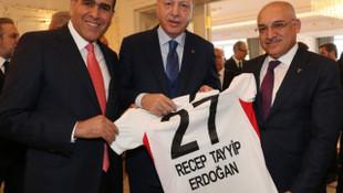 Cumhurbaşkanı Erdoğan, Büyükekşi ve Altunkaya'yı kabul etti