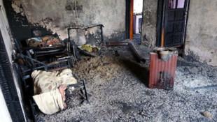 Korkunç ölüm! 2 çocuk yanarak can verdi