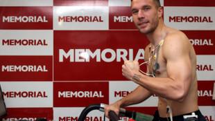 Antalyaspor'da Podolski ve Ersan sağlık kontrolünden geçti