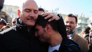 Bakan Soylu ve Koca, Türkiye'nin konuştuğu Suriyeli gençle buluştu