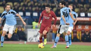 Cengiz Ünder, Roma derbisinde maçın oyuncusu seçildi