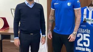 BB Erzurumspor'da Ömer Şişmanoğlu imzayı attı