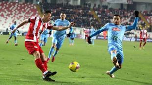Süper Lig: D.G. Sivasspor: 0 - Çaykur Rizespor: 0 (İlk yarı)