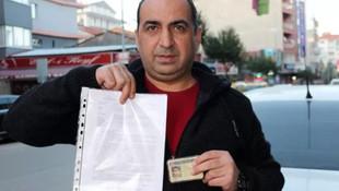 Mahkemeye başvurdu, cezayı iptal ettirip ehliyetini geri aldı!