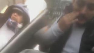 Yol kesip evrak kontrolü yapan taksiciye şok !