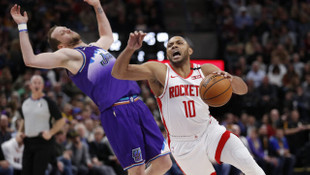 Utah Jazz 117 - 126 Houston Rockets (Eric Gordon 50 sayıyla kariyer rekoru kırdı)