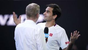 Avustralya Açık'ta 7 kez maç puanı çeviren Roger Federer yarı finalde