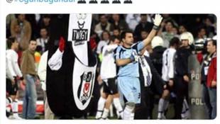 Murat Şahin'den heyecanlandıran Beşiktaş paylaşımı