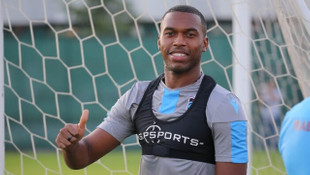 Trabzonspor'da Sturridge takımla birlikte çalıştı
