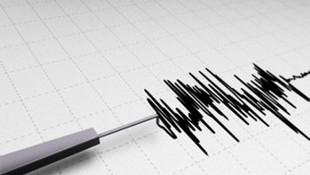 Marmaris açıklarında korkutan deprem !