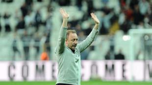 Sergen Yalçın Beşiktaş'ın başında ilk idmana çıkıyor