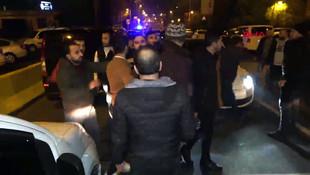 İstanbul'da taksiciler ortalığı savaş alanına çevirdi