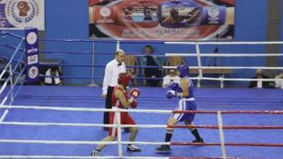 Çankırı'da boks heyecanı