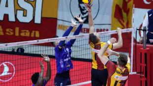 2020 Erkekler CEV Kupası: Galatasaray HDI Sigorta: 3 - C.S.M. Arcada Galati: 0
