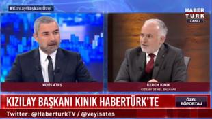 Kızılay Başkanı Kerem Kınık'tan skandal savunma !