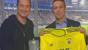 Fenerbahçe Başkanı Ali Koç'tan Acun Ilıcalı'ya jest!
