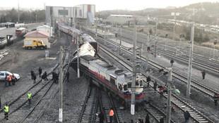 Ankara'da tren kazasından ilk fotoğraflar