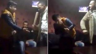 Beyzbol sopasıyla işkence dehşeti ! Görüntüler sosyal medyayı karıştırdı