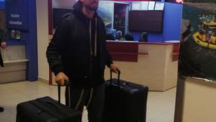 Manuel da Costa imza için Trabzon'da