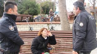 Polonyalı kadın turist polise zor anlar yaşattı