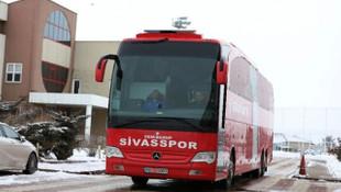 Sivasspor, Gaziantep'e gitti