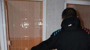 Üniversiteli genç kadın hastan tuvaletinde doğurup kaçtı