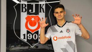 Beşiktaş'ta Hasic ile 4.5 yıllık sözleşme imzalandı