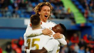 ÖZET | Getafe - Real Madrid maç sonucu: 0-3