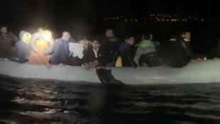 Sahil Güvenlik botu ile göçmenleri taşıyan bot çarpıştı: 4 ölü