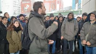 İTÜ öğrencileri talepleri için eyleme başladı!