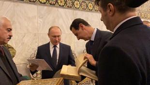 Yarın Türkiye'ye gelecekti... Putin Esad'la görüştü !
