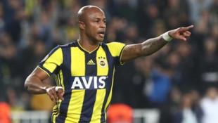 Andre Ayew'in Instagram hesabı hacklendi: Fenerbahçe'ye dönüyorum