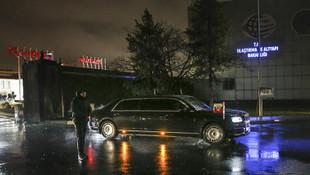 Rusya lideri Putin İstanbul'a geldi