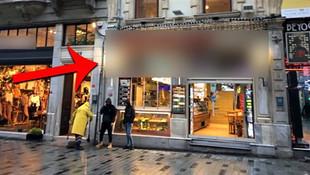 İstiklal Caddesi'nde ''yetişkinlere özel film'' rezaleti!