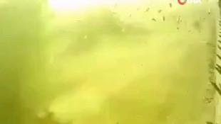 İran'da düşen yolcu uçağının patlama görüntüleri ortaya çıktı