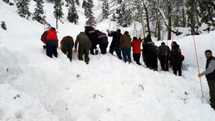 Adana'da çığ altında kalan işçinin cesedine ulaşıldı